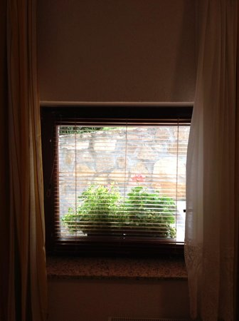 Pansion Breza : Small basement window