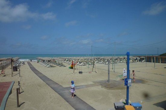 Zimmer Casa Furrer: Spiaggia Bagno Convenzionato