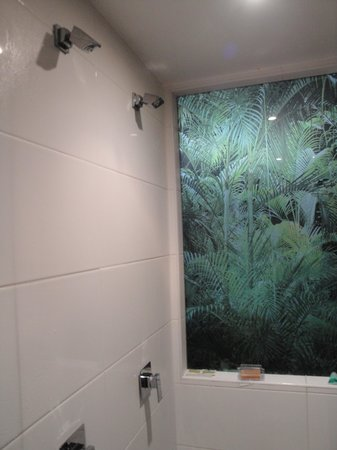 Newtown Darlington Suites : Very cool shower!