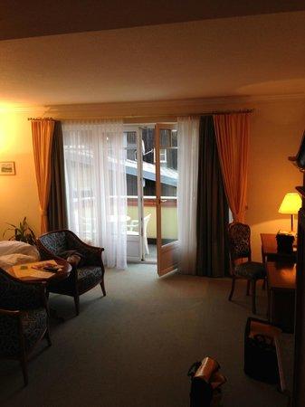 Hotel Leitnerbräu: Large double room