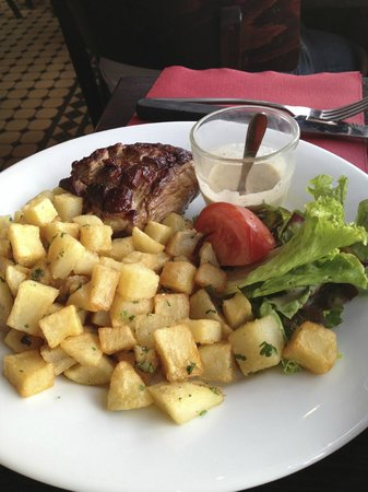 LE SANCERRE : Tender steak!