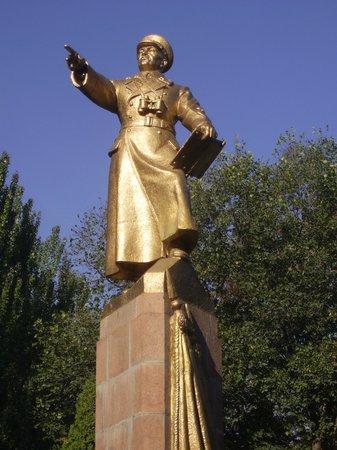 Panfilov Park: Panvilov Denkmal