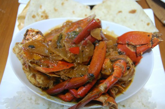 Oasis Cafe : chili mud crab