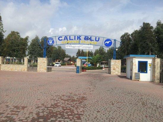 Camping Village Laguna Blu : entrance