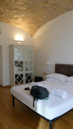 La Finestra sul Colosseo B&B: Unser Zimmer | double room with the Colosseo view