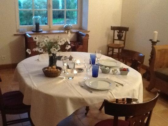 Auberge de la Tuilerie : dinner