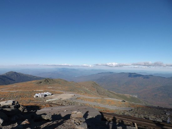 Mount Washington Auto Road : The Top of New England - Mt Washington Summit