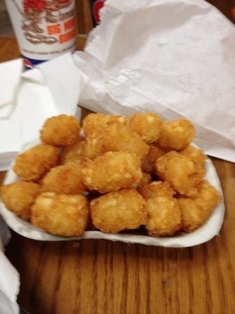 Miner's Drive-in Restaurant: The Tots Of Joy
