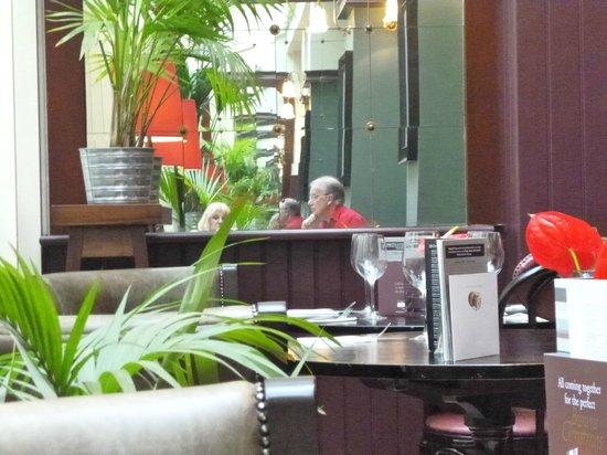 Browns Brasserie & Bar: reflective mood