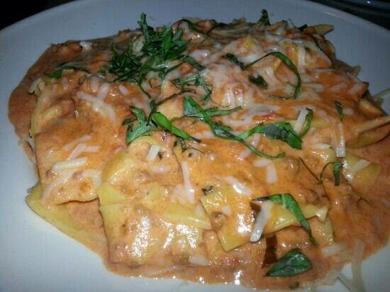River Rock Inn American Bistro : veal pappardelle pasta