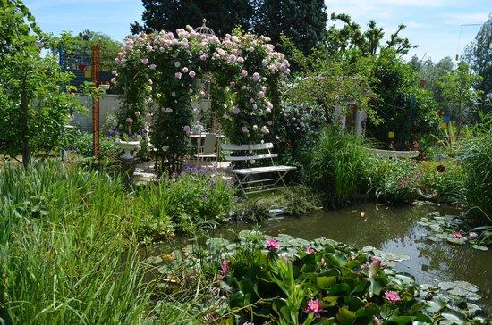 Courjumelle : Jardin