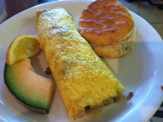 Andy's Flour Power: Omelet