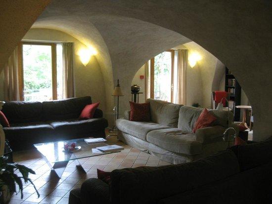 Chalet Solneige: Wohnzimmer