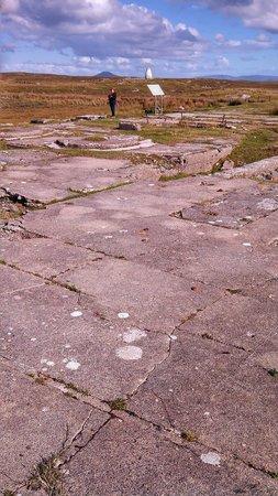 Marconi Station: Concrete floor remains