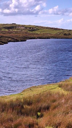 Marconi Station: The lake- once had an antennae in it