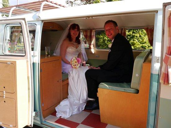 The Bridge Hotel and Spa: The happy couple