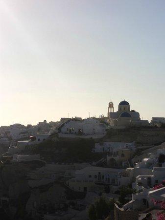 Aspa Villas : Caldera view from hotel terrace