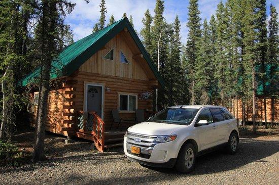 Caribou Cabins : Extérieur de la maison n°3
