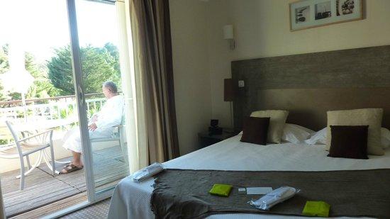 Hôtel Les Mouettes  : chambre double vue jardin à 79€