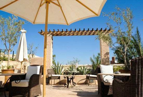 Riad Camilia: Roof top Terrace
