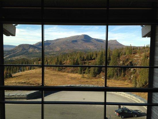 Copperhill Mountain Lodge : Utsikt från ett av hotellets härliga ställen