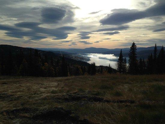 Copperhill Mountain Lodge : Utsikt från ett av vandringslederna