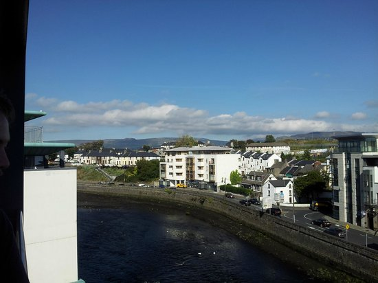 City Scape From Hotel Picture Of The Glasshouse Sligo Tripadvisor