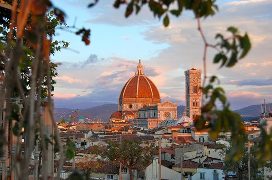 Grand Hotel Baglioni Firenze View From Rooftop Terrace