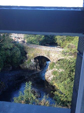 Bryn Afon Guest House: View from Window