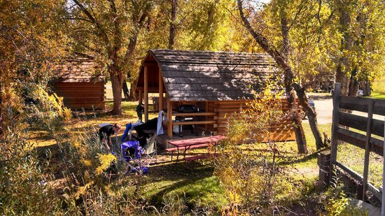 Camping cabin picture of steamboat campground steamboat for Cabins in steamboat springs