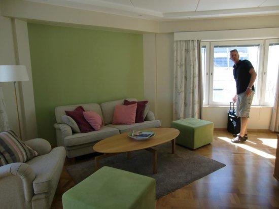 Elite Hotel Marina Plaza : Suite
