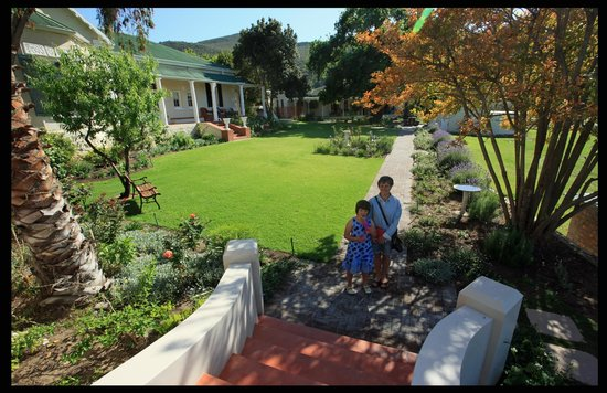 Montagu Vines Guesthouse: Stunning Garden area