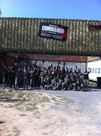 Paintball Commando Rive-Sud