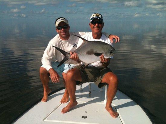 MudPuppy Fishing Charters: beautiful florida bay permit