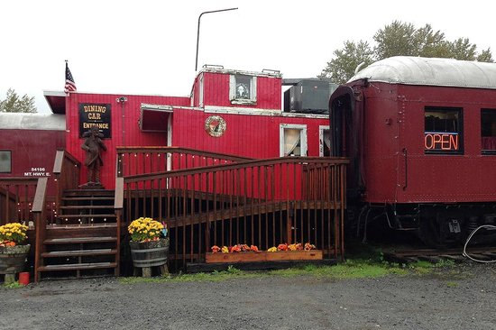 Mt. Rainier Railroad Dining Co.: You enter here.