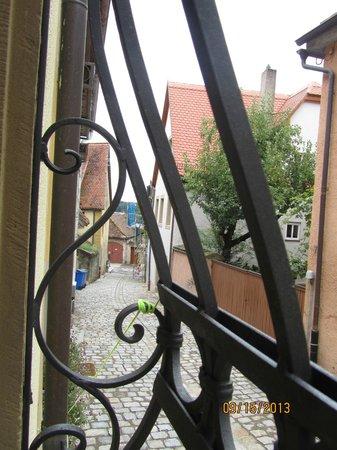 Gaestehaus Liebler: View out the window