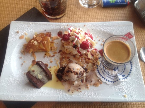 Le Royalty : Café gourmand
