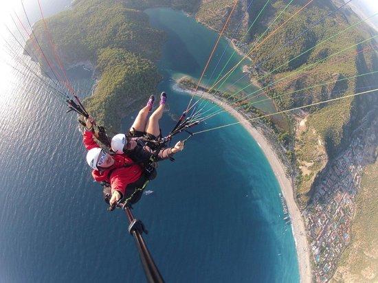 Sky Sports Paragliding: Hello Oludeniz!