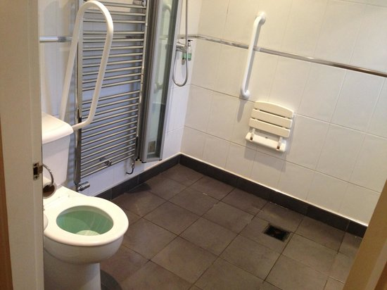 The Lodge Lancaster: Bathroom for the elderly or disabled!