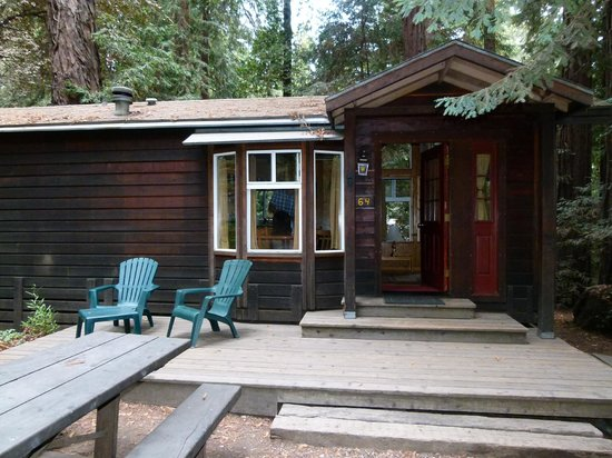 small cabin at campgrounds picture of big sur campground