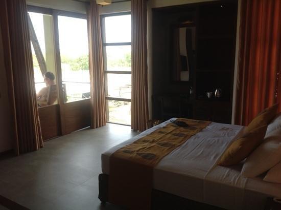 Hotel Chandrika: huge new room