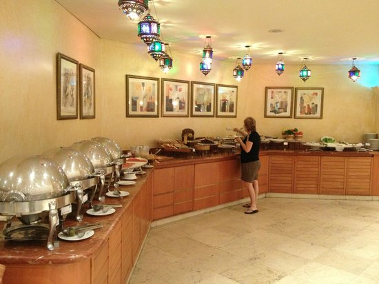 Lancaster Tamar Hotel: Breakfast spread