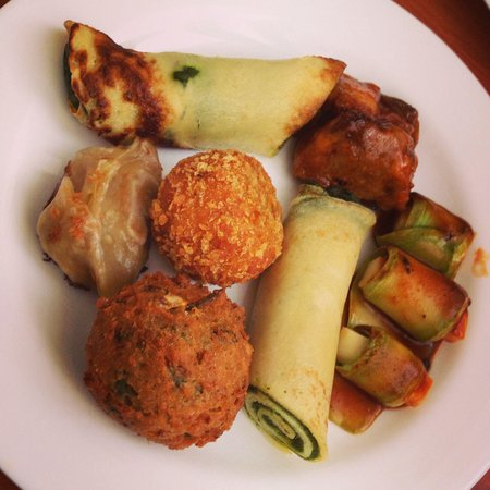 Restaurante Verde Perene : Panqueca de espinafre!