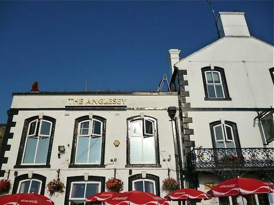 The Anglesey Arms: Front side of Anglesey Arms