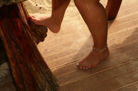Bay View Resort: Ножки во время обеда