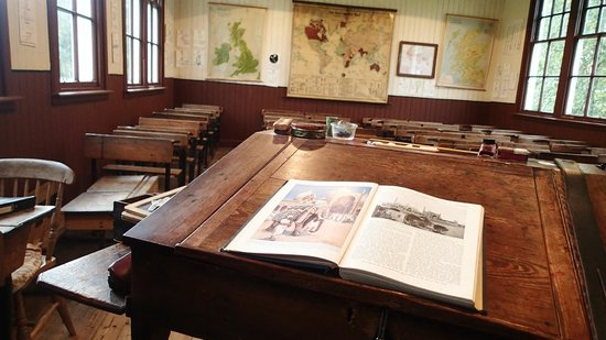 Highland Folk Museum: A snippet of the classroom