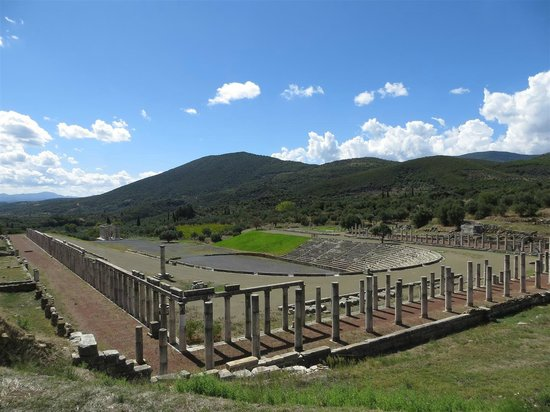 Ancient Messene : Gymnasium