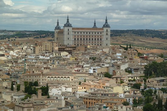 Parador de Toledo: View from the terrace of the Parado