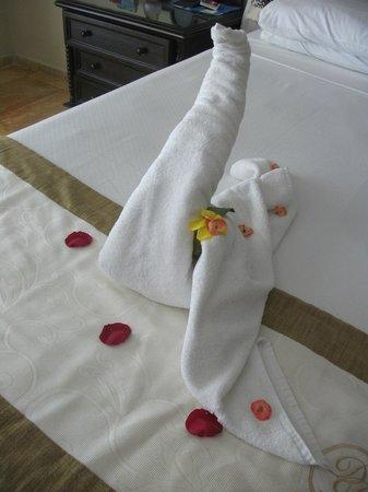 Luxury Bahia Principe Cayo Levantado Don Pablo Collection: towel art every day