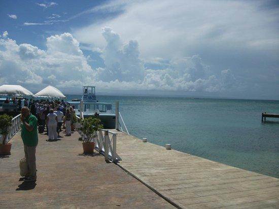 Luxury Bahia Principe Cayo Levantado Don Pablo Collection: getting ready to leave